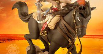 Boneca Wonder Woman Q-Fig Max do Filme Mulher Maravilha