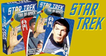 Baralho Sr. Spock Star Trek