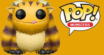 Tumblebee, o Primeiro Monstro Funko Pop! Monsters
