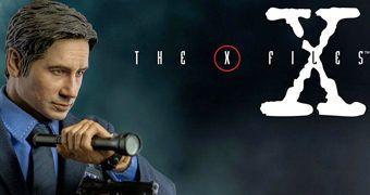 Agente Mulder (David Duchovny) em Arquivo X – Action Figure Perfeita 1:6 Threezero
