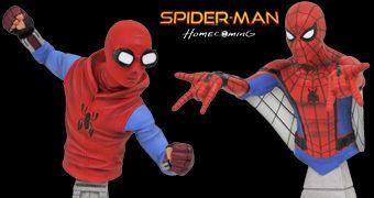 Bustos Homem-Aranha: De Volta ao Lar