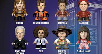 Mini-Figuras Doctor Who TITANS Blind-Box: Partners in Time