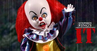 Living Dead Dolls Presents: Palhaço Pennywise em It (1990) de Stephen King
