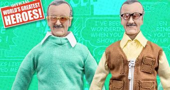 Action Figures Retro Stan Lee (World's Greatest Heroes)