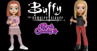 Bonecas Rock Candy Buffy, a Caça-Vampiros