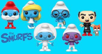 Bonecos Pop! Os Smurfs!