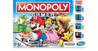 Jogo de Tabuleiro Monopoly Gamer Nintendo