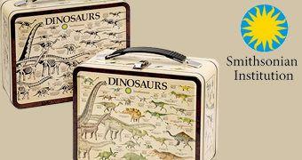Lancheira Dinossauros do Instituto Smithsoniano