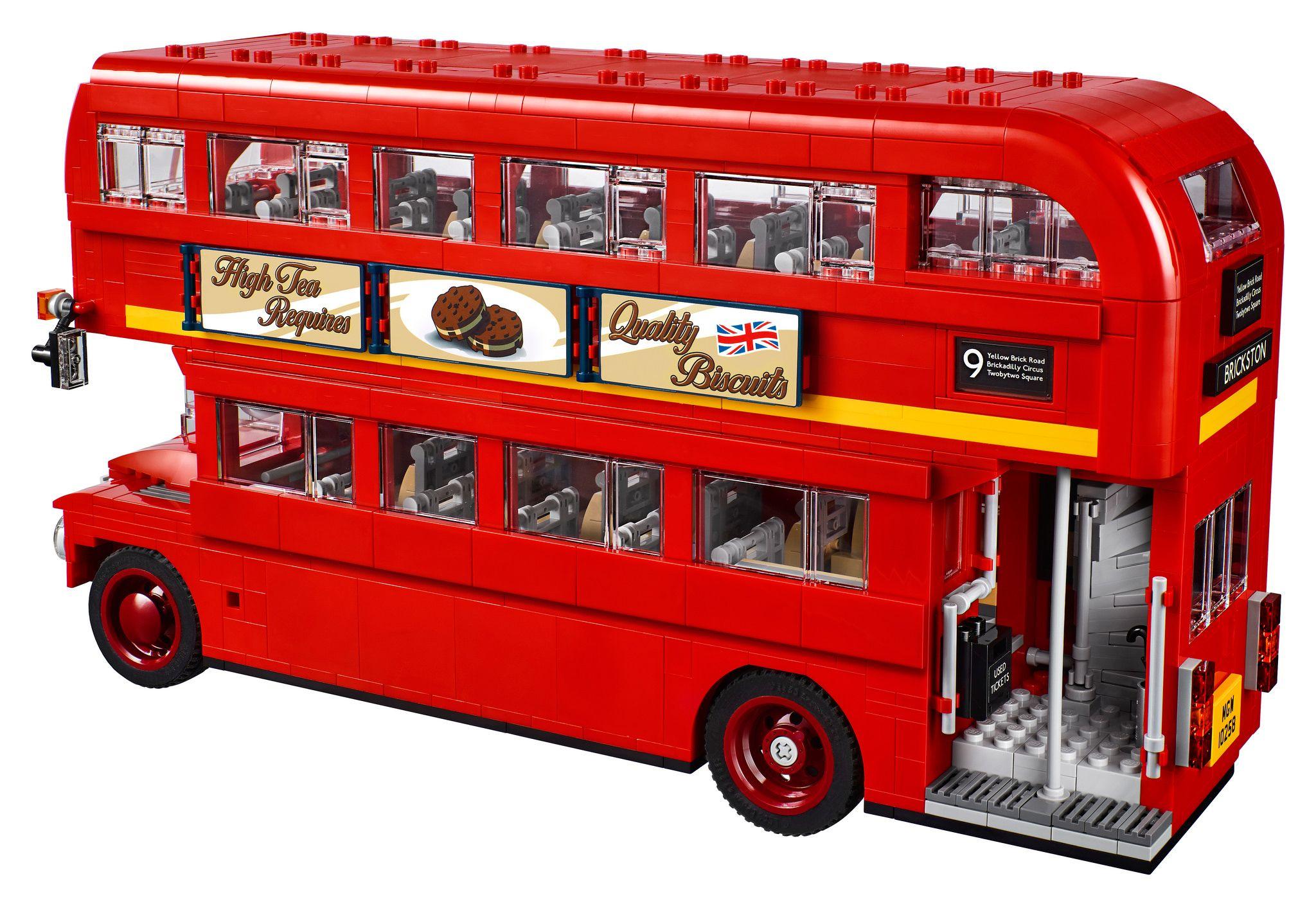 Lego London Double Decker Bus Kit Do Cl 225 Ssico 212 Nibus De