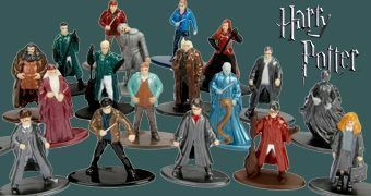 Harry Potter Nano Metalfigs – 20 Mini-Figuras de Metal Die-Cast