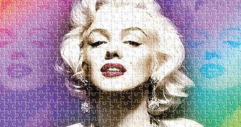 Quebra-Cabeça Marilyn Monroe em Os Homens Preferem as Loiras