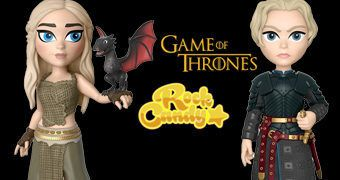 Bonecas Rock Candy Game of Thrones: Daenerys e Brienne of Tarth