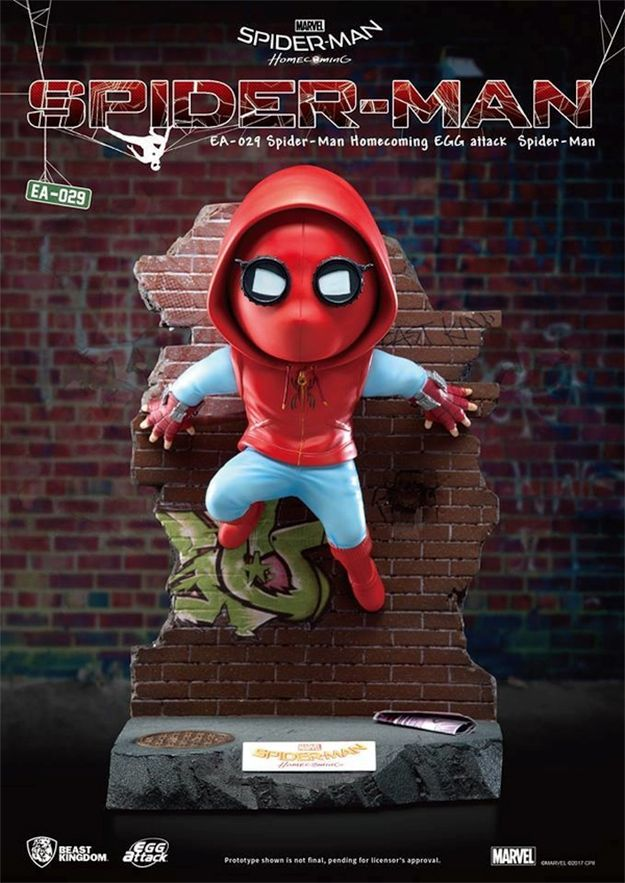 Estatua-Spider-Man-Homecoming-Egg-Attack-Statue-02