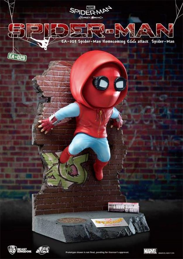 Estatua-Spider-Man-Homecoming-Egg-Attack-Statue-03