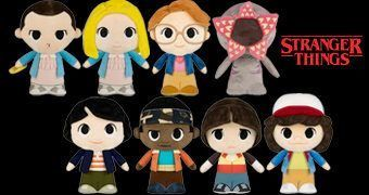 Bonecos de Pelúcia Stranger Things SuperCute Plushies