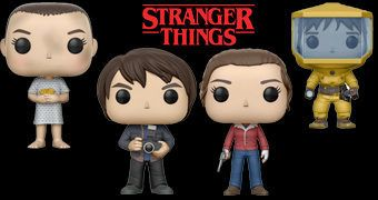 Bonecos Stranger Things Pop! Wave 2