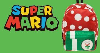 Mochila Planta Carnívora (Piranha Plant) Super Mario Bros.