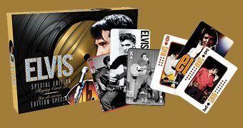 Baralhos Elvis Presley com 104 Fotos Históricas