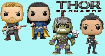 Bonecos Pop! Thor: Ragnarök