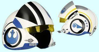 Capacete de Luxo Star Wars Esquadrão Azul: Poe Dameron
