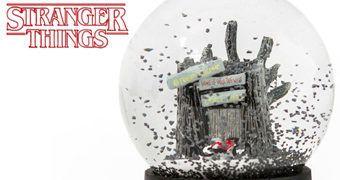 Globo de Neve Stranger Things: Cabana Castle Byers