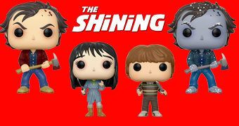 Bonecos Pop! O Iluminado (The Shining) de Stephen King e Stanley Kubrick