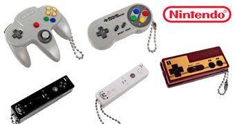 Chaveiros Nintendo Controllers