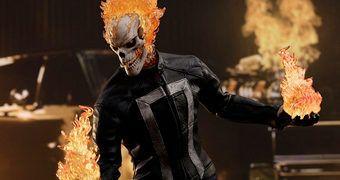 Ghost Rider em Agentes da S.H.I.E.L.D. – Action Figure Perfeita 1:6 Hot Toys
