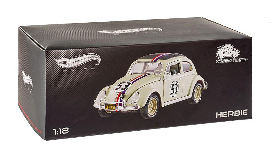 Carrinho-Herbie-Goes-to-Monte-Carlo-VW-Beetle-Hot-Wheels-Elite-Cult-Classics-Die-Cast-Vehicle-09