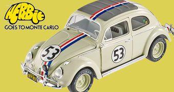 Herbie O Fusca Enamorado em Escala 1:18