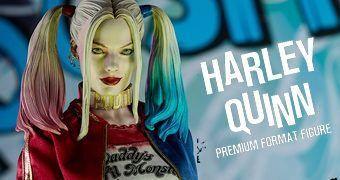 Harley Quinn (Margot Robbie) Premium Format – Estátua 1:4 Sideshow Collectibles