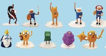 Mini-Figuras Hora de Aventura Original Mini's (Blind-Box)