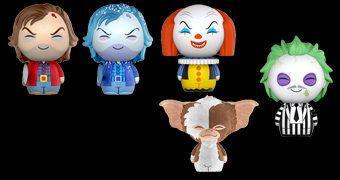 Bonecos Dorbz! Horror: O Iluminado, It Pennywise, Beetlejuice e Gremlins