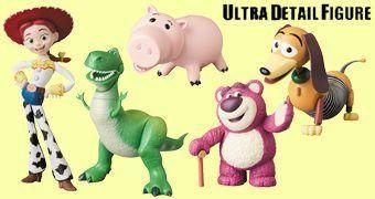 Bonecos Toy Story UDF da Medicom Toy Japão