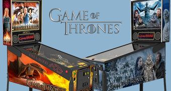 Pinball Game of Thrones!