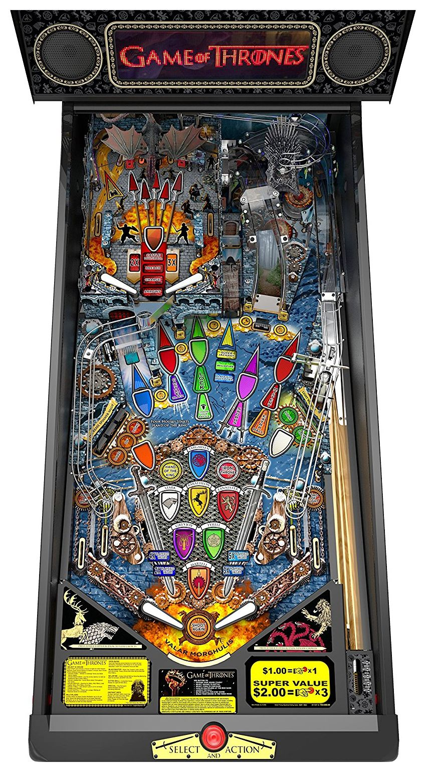 Game-of-Thrones-Pinball-Premium-Arcade-Pinball-Machine-04