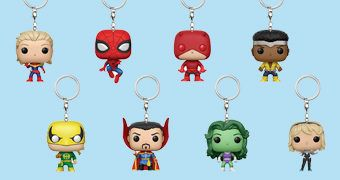 Chaveiros Funko Pocket Pop! Keychains: Marvel e DC Comics (Blind-Box)