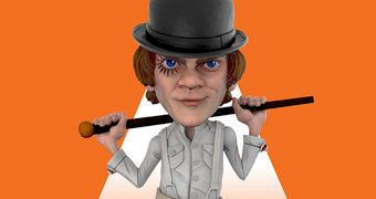 Alex DeLarge Clockwork Orange Mezco Stylized Figure (Laranja Mecânica)