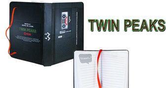 Diário Twin Peaks Microcassete do Agente Dale Cooper