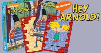 Baralho do Desenho Animado Hey Arnold!