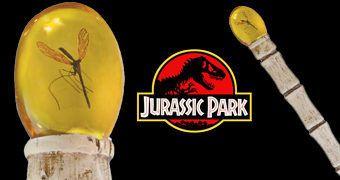 Réplica da Bengala de Âmbar de John Hammond em Jurassic Park