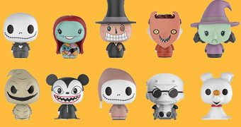 Mini-Figuras Nightmare Before Christmas Pint Size Heroes (Funko Blind-Box)