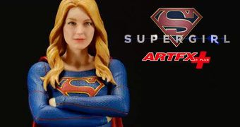 Supergirl ArtFX+ (Melissa Benoist) – Estátua Kotobukiya da Série de TV