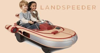 Landspeeder Ride On de Luke Skywalker – Veículo Elétrico 12 Volt Star Wars