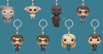 Chaveiros Funko Pocket Pop! Harry Potter (Blind-Box)