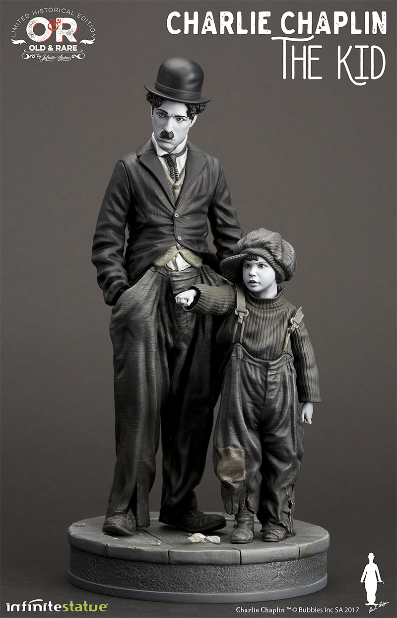 Charlie-Chaplin-O-Garoto-The-Kid-Infinite-Statue-01