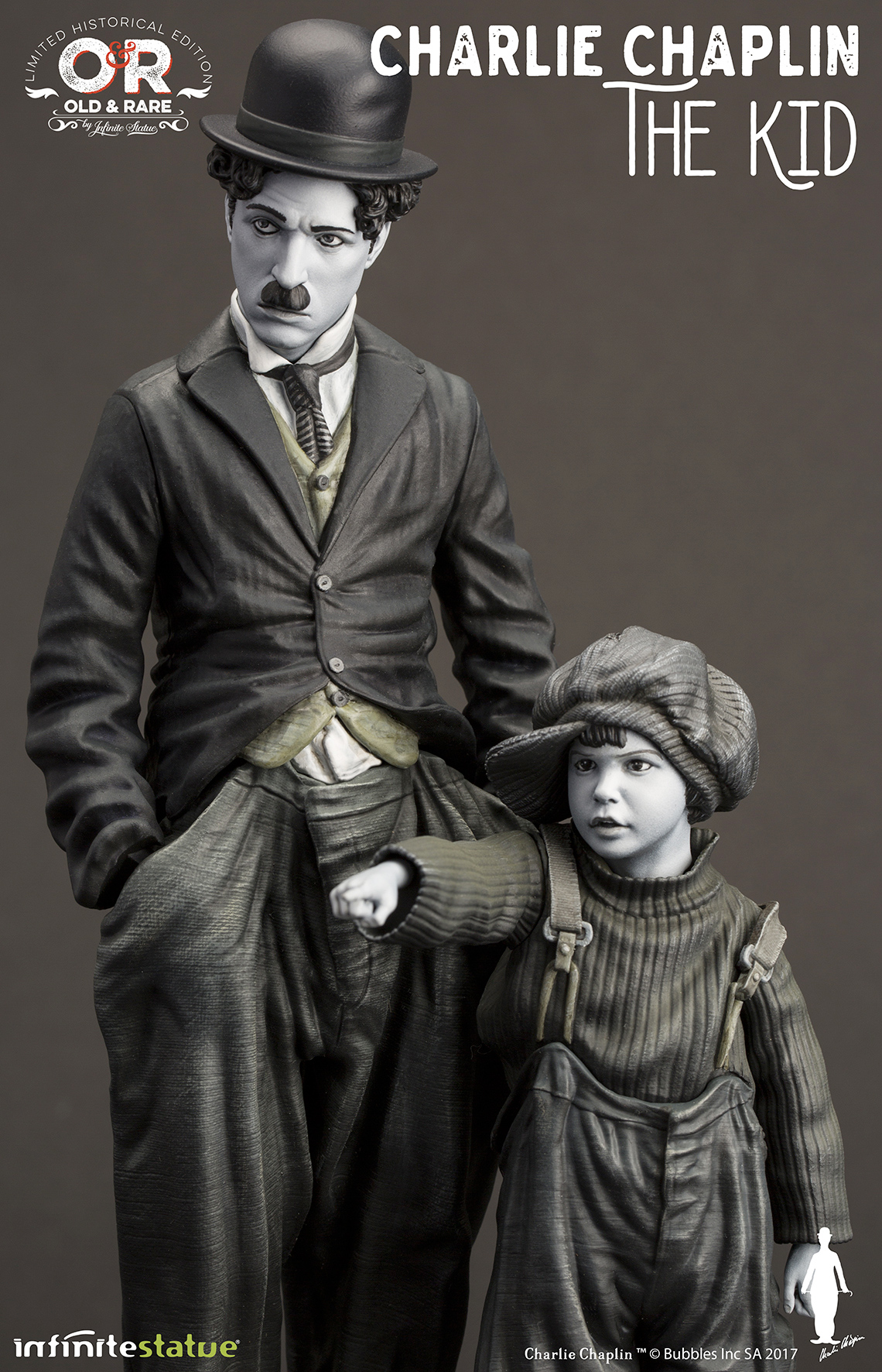 Charlie-Chaplin-O-Garoto-The-Kid-Infinite-Statue-02