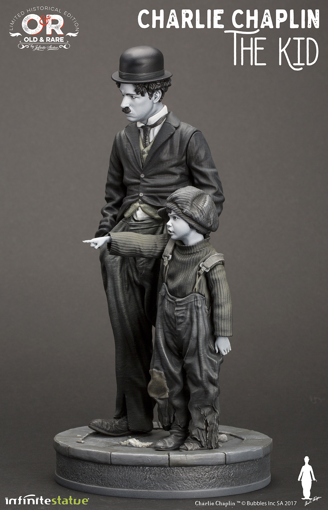 Charlie-Chaplin-O-Garoto-The-Kid-Infinite-Statue-05