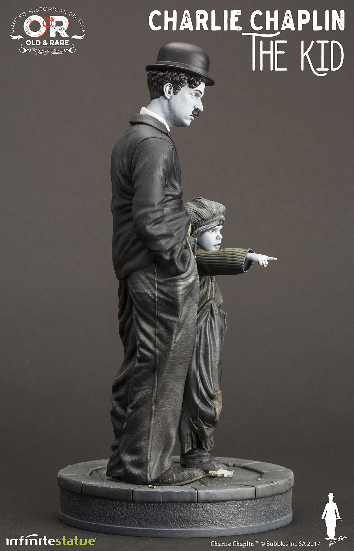 Charlie-Chaplin-O-Garoto-The-Kid-Infinite-Statue-06