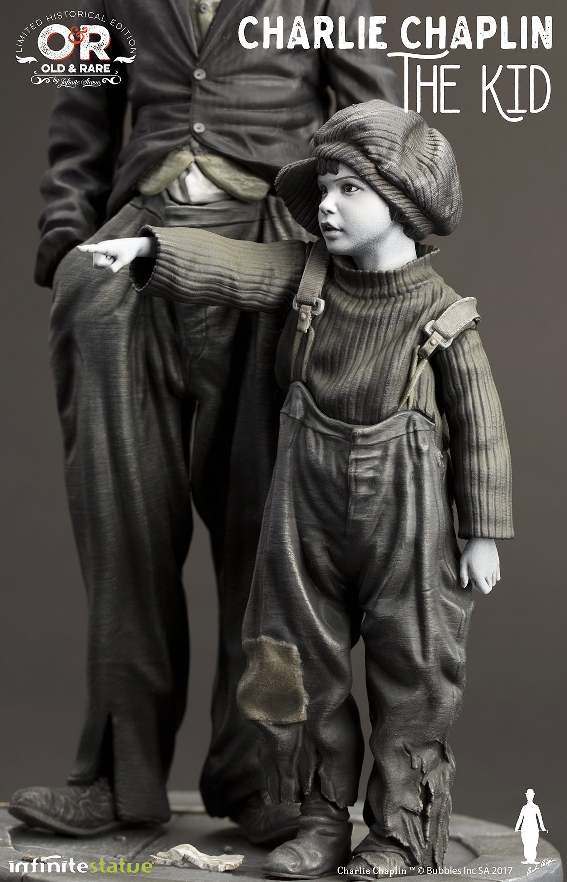 Charlie-Chaplin-O-Garoto-The-Kid-Infinite-Statue-10